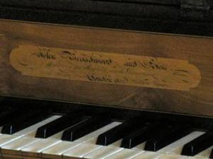 Castle Howard keyboard - Sound Heritage Project