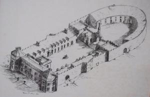 Lissanoure Castle, circa 1828