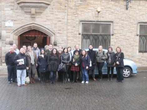 Public History Interns at Queen's University Belfast